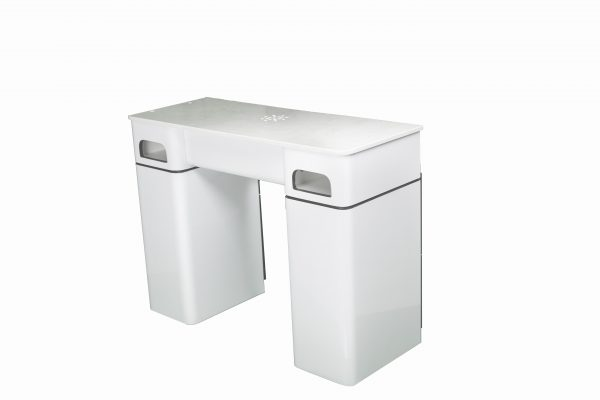 single manicure station white