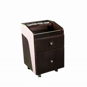 pedi cart brown