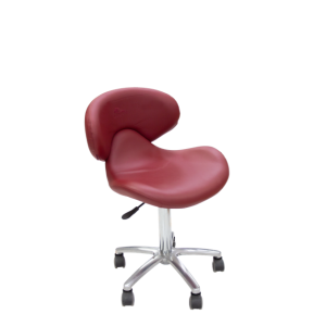 Pedicure Tech Stool - red