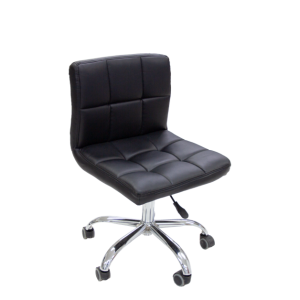 black square client/tech chair